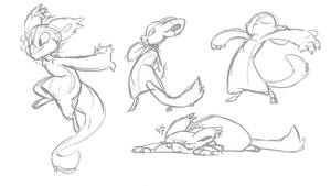 Free to use poses by jalajalapeno