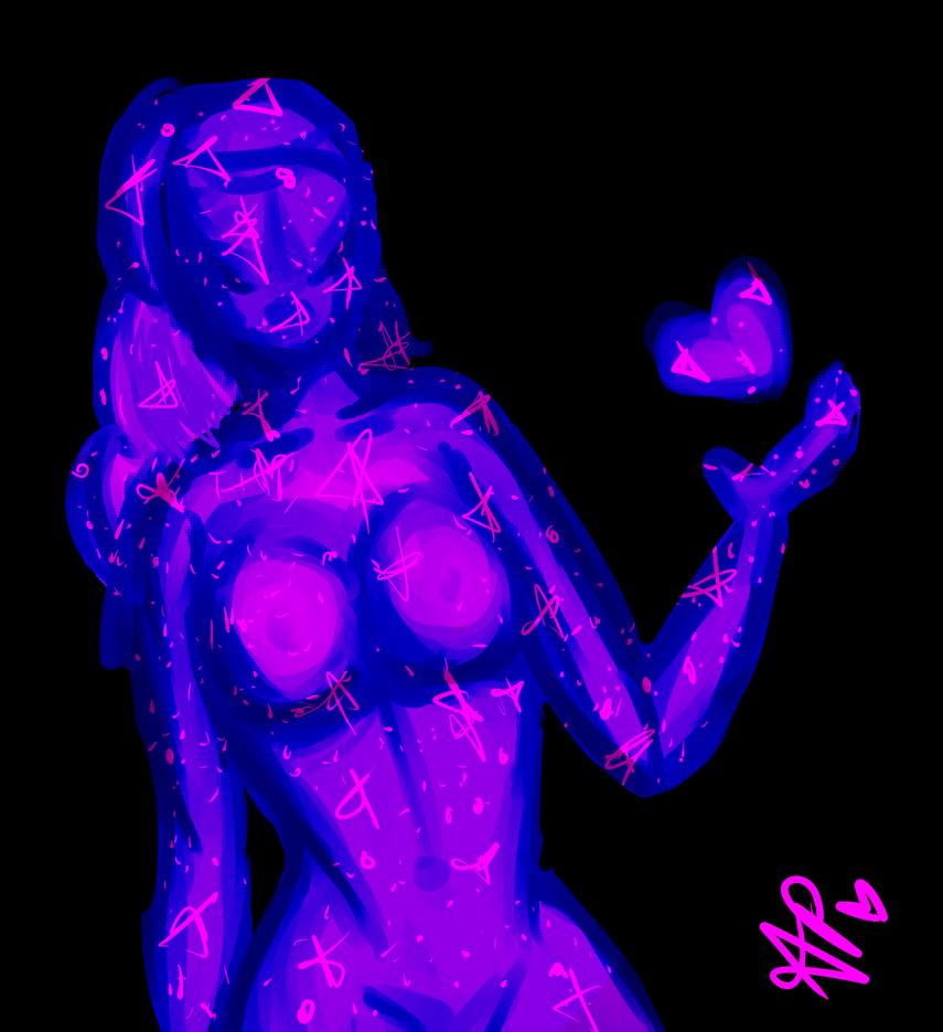 Galaxy body by ThyDemonicKitty