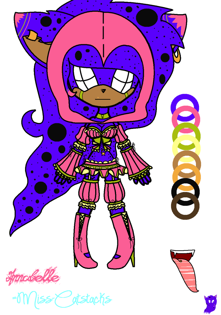 Annabelle's UPDATED Outfit 2013~ by Miss-Catstacks
