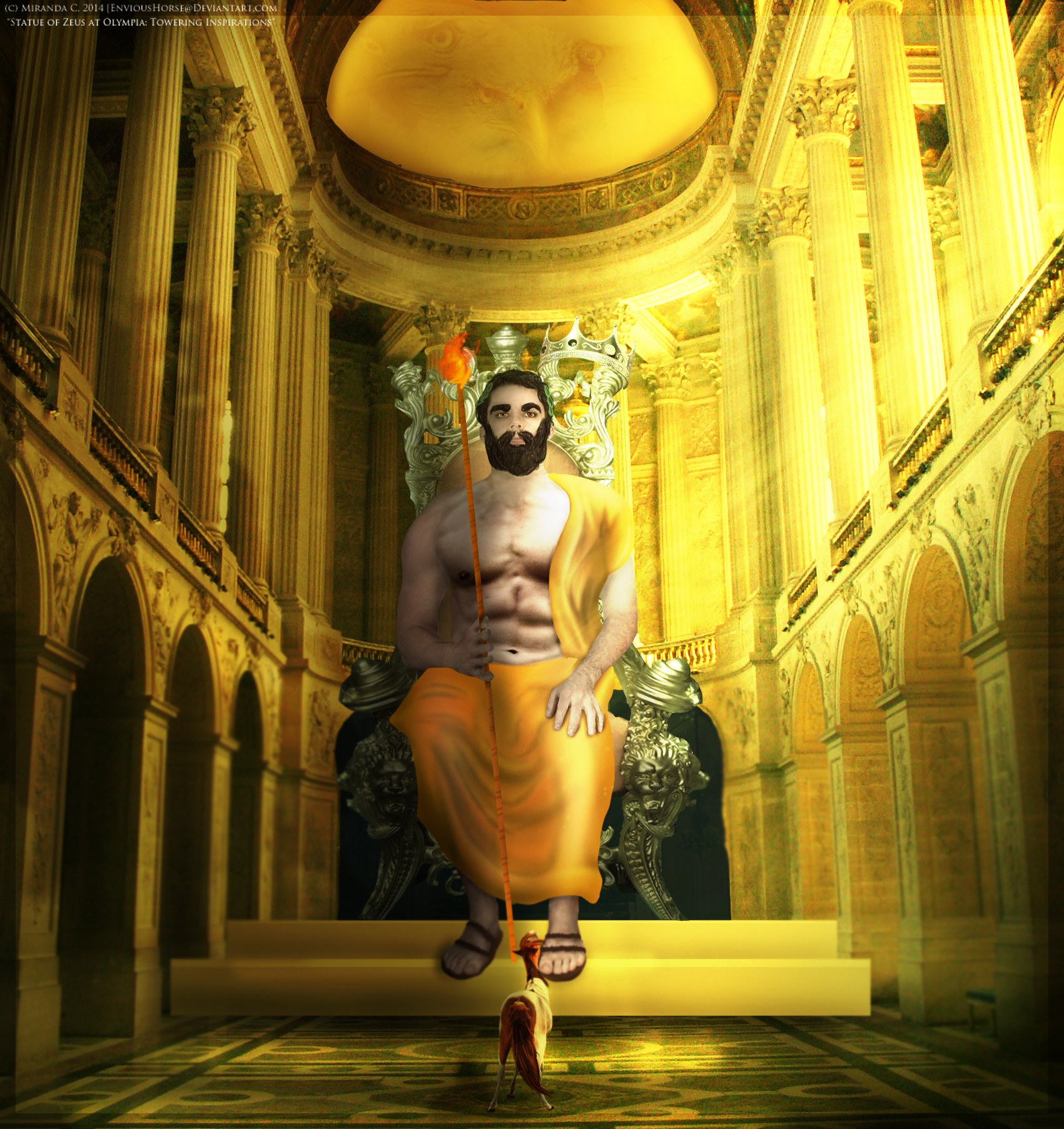 Statue of Zeus at Olympia: Towering Inspirations by EnviousHorse