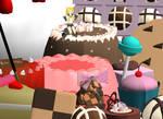 : MMD : Candy Wonderland