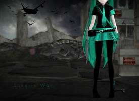 : MMD : my heart's a battleground by PuniPudding