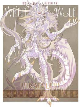 [CLOSED] Draconic Guardian - White Wolf