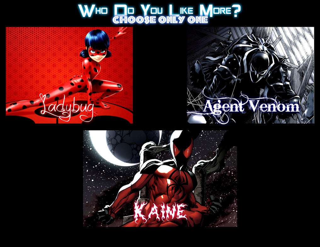Marvel 2K - Who Do You Like More by EarthCenturion