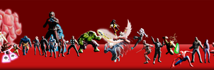 The Marvel Universe (will get updated)