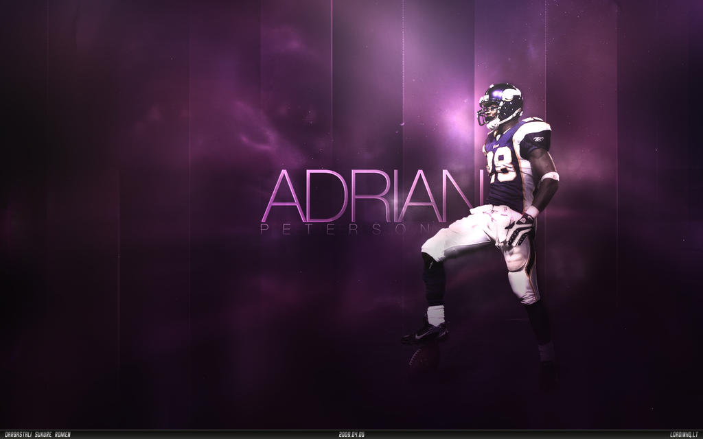 Adrian Peterson By LoadinHQ