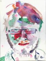 self portrait by pill-boy