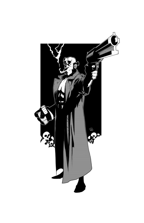Hellboy by DiegoLlorente