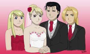 Royai - Wedding Day by VelvetRebel