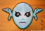 Zora Mask - Perler Beads