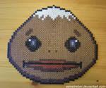 Goron Mask - Perler Beads