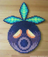 Deku Mask - Perler Beads by VelvetRebel