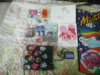 BronyCon 2012 - My Souvenirs I Bought by DestinyDecade