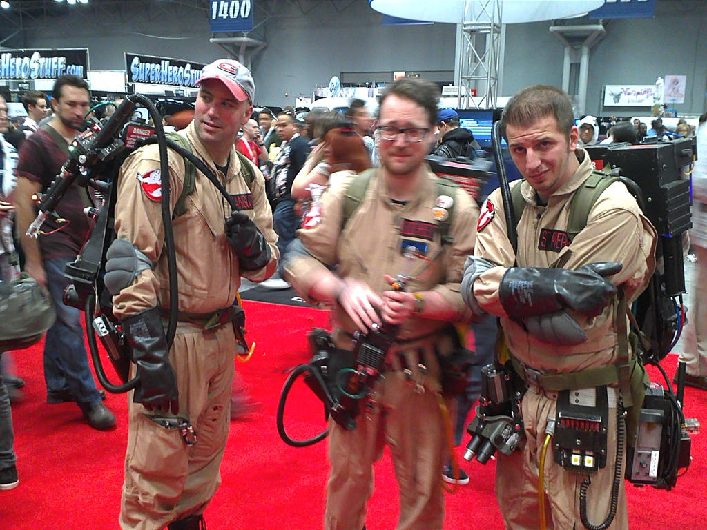 Ghostbusters at NYCC 2012 by DestinyDecade