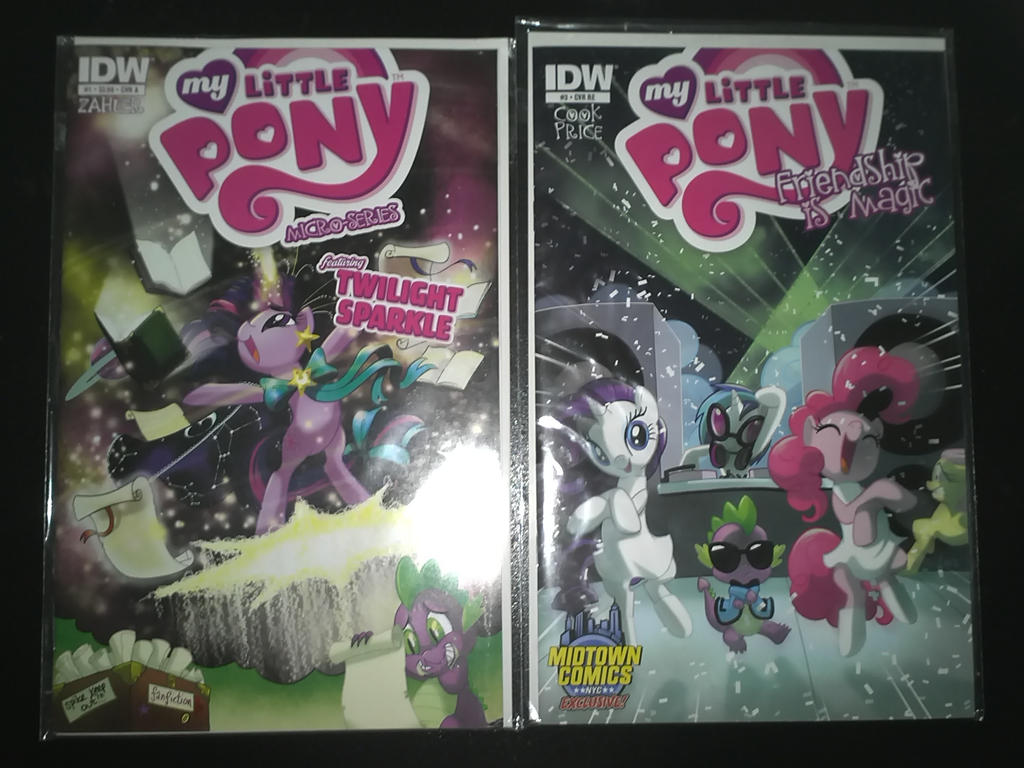 Double Dose of IDW's My Little Pony: FiM Comics by DestinyDecade