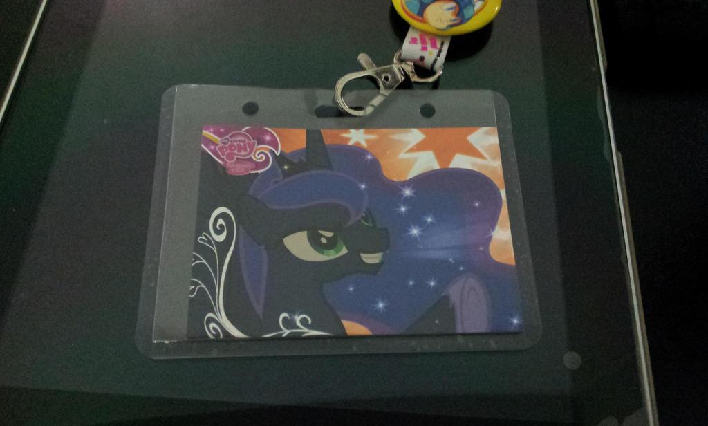 Series 2 Luna Promo Card... Huzzah! by DestinyDecade
