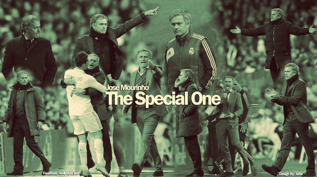 Jose Mourinho Wallpaper The Special One Jose Mourinho The Special One