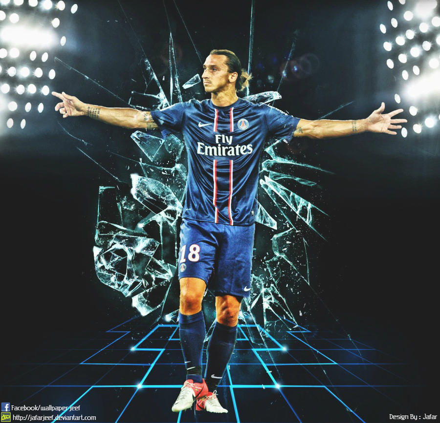 Zlatan Ibrahimovic PSG Wallpapers By Jafarjeef