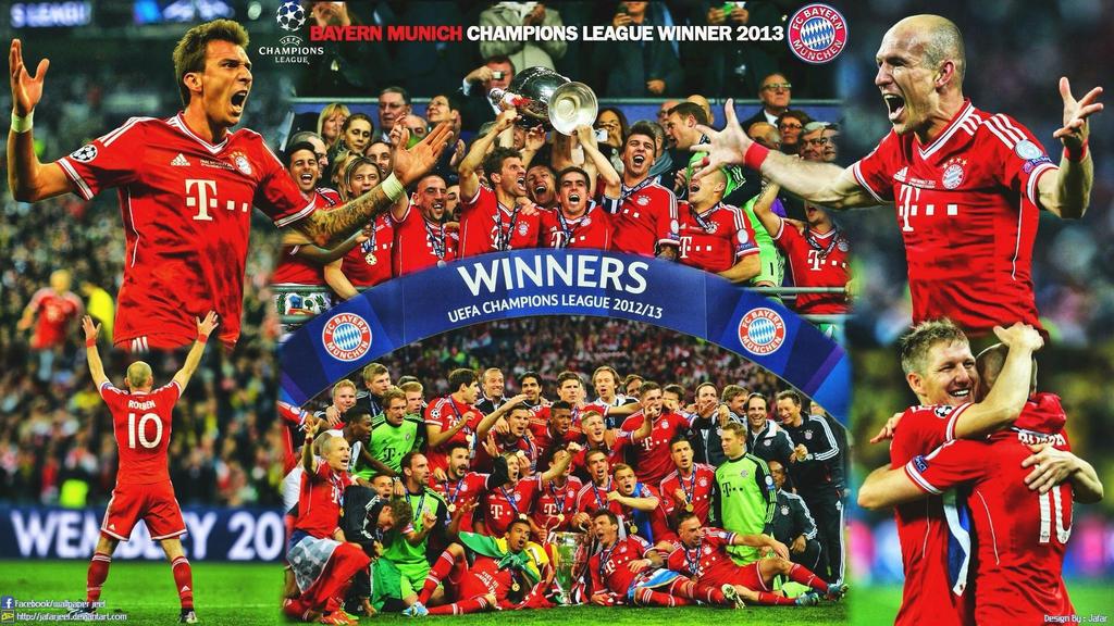 Bayern Munich Champions League Winner 2013 By Jafarjeef On Deviantart