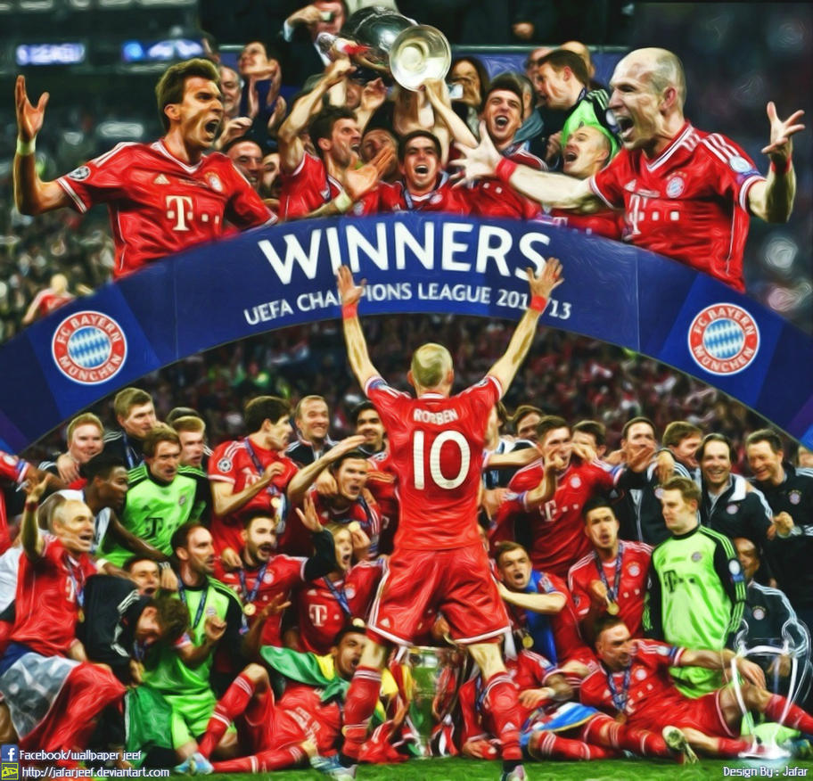 Bayern munchen champions league 2013 by jafarjeef on deviantart bayern munchen champions league 2013 by jafarjeef voltagebd Images