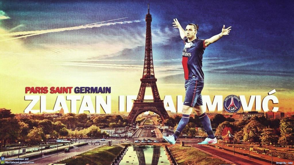 Zlatan Ibrahimovic PSG Wallpaper By Jafarjeef