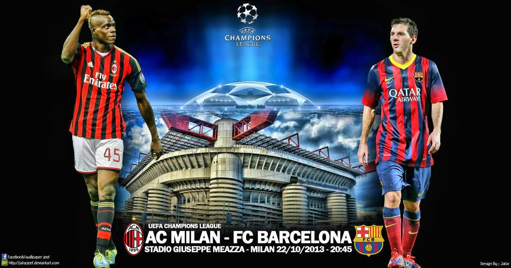 [FIFA 14] [Carrière Hakim] FC Barcelone - Page 4 Ac_milan___fc_barcelona_champions_league_2013_by_jafarjeef-d6ohw41