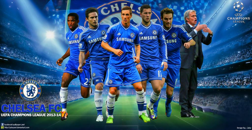 Chelsea Champions League Wallpaper by jafarjeef on DeviantArt