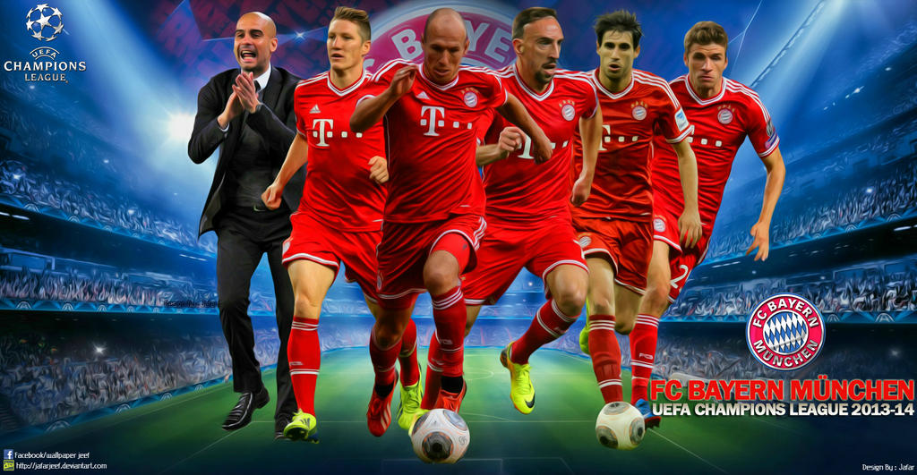 Bayern Munchen Champions League Wallpaper By Jafarjeef On Deviantart