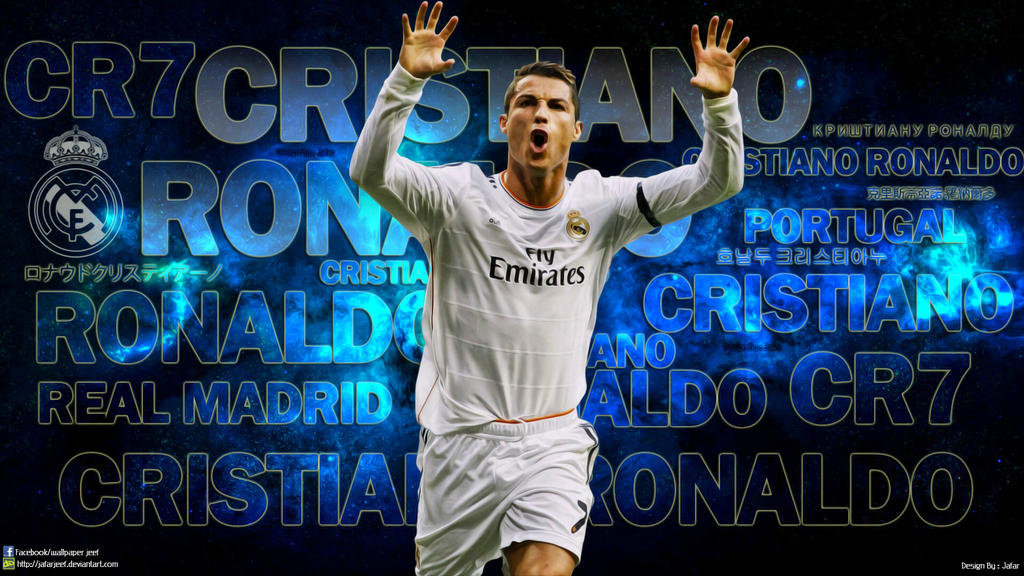 Cristiano ronaldo real madrid wallpaper by jafarjeef on deviantart cristiano ronaldo real madrid wallpaper by jafarjeef voltagebd