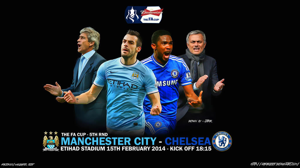 Chelsea Vs Manchester City 2014: Manchester City V Chelsea FA Cup 2014 By Jafarjeef On