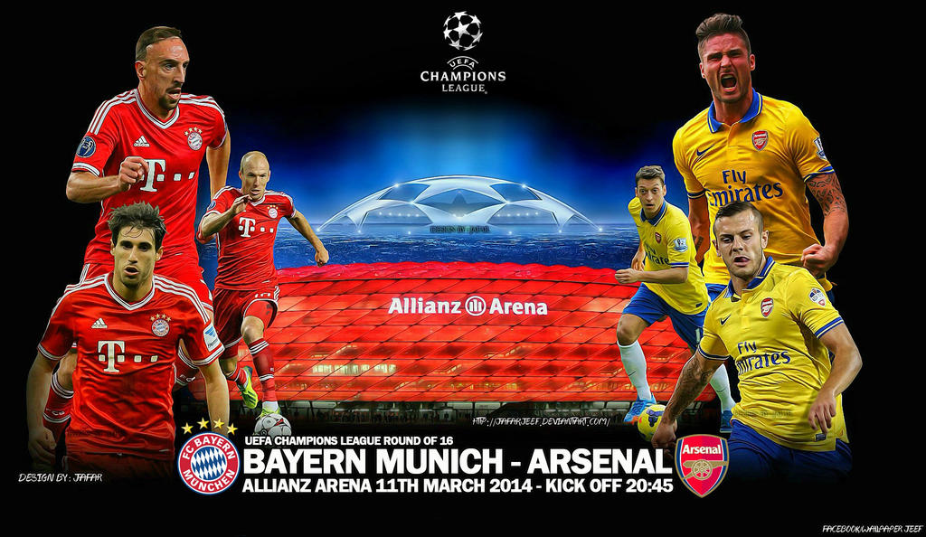 Bayern Munich - Arsenal by jafarjeef