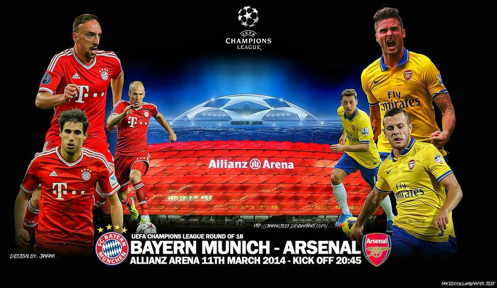 Bayern Munich - Arsenal by jafarjeef