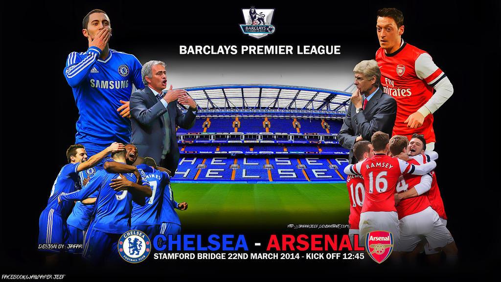 Chelsea - Arsenal by jafarjeef