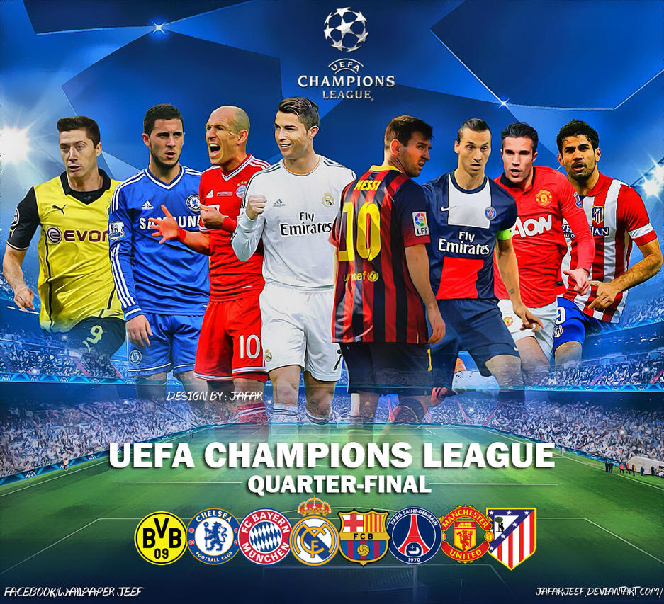 UEFA Champions League Quarter-Final 2014 by jafarjeef on ...