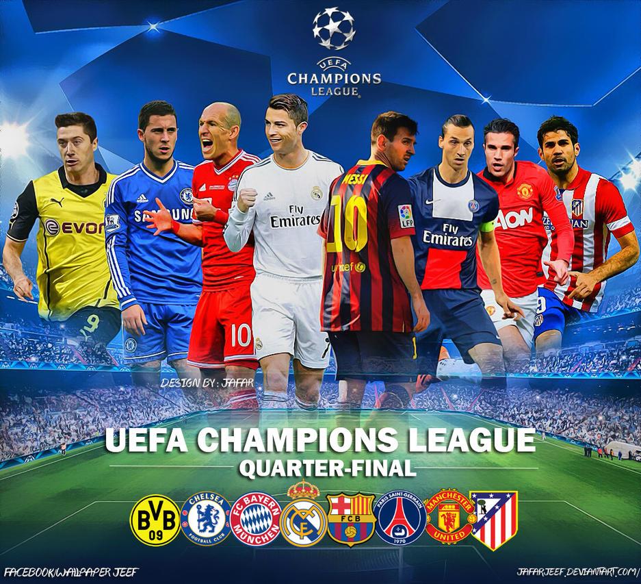 UEFA Champions League Quarter-Final 2014 by jafarjeef on DeviantArt