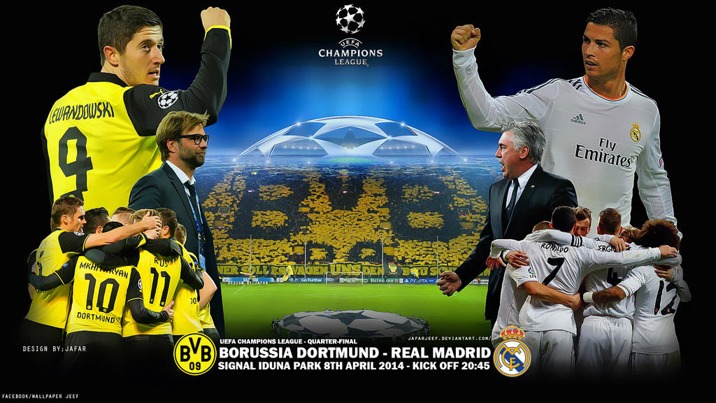 bvb real madrid 2017