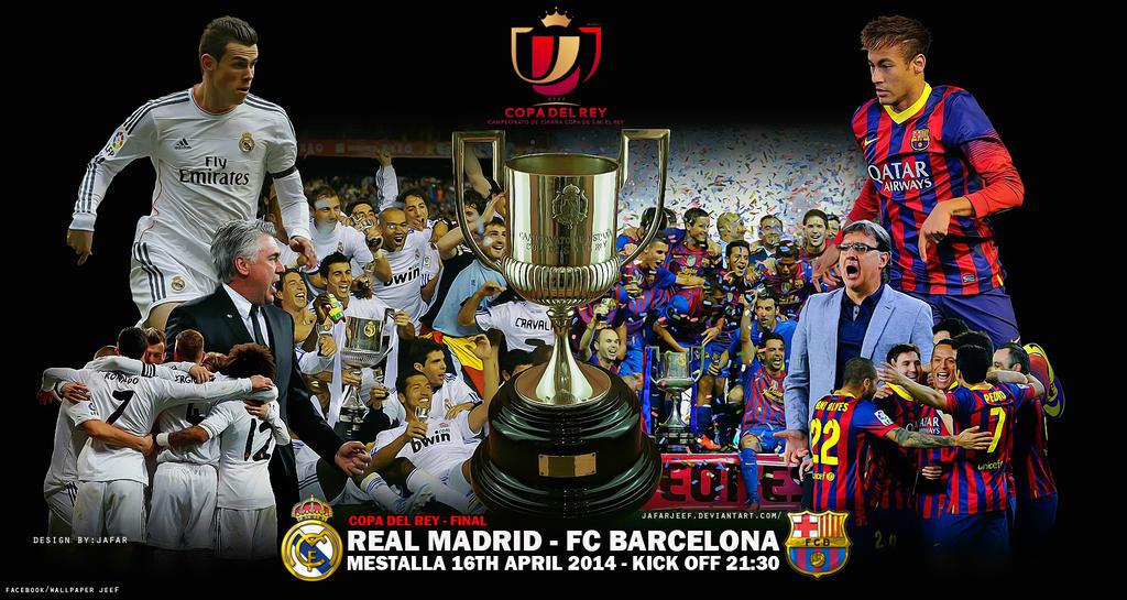 Real Madrid   Fc Barcelona By Jafarjeef