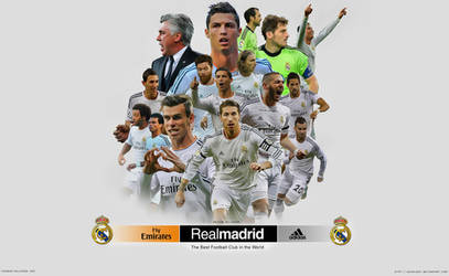 Real madrid Wallpaper 2014 by jafarjeef