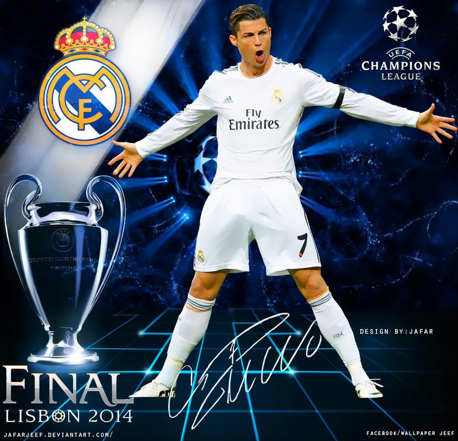 Cristiano Ronaldo Champions League 2014 By Jafarjeef