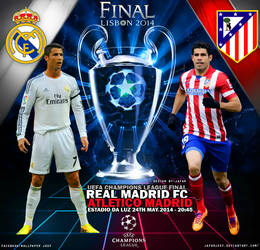 Real Madrid - Atletico Madrid 2014 by jafarjeef
