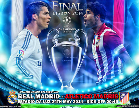 Champions League Final 2014 by jafarjeef