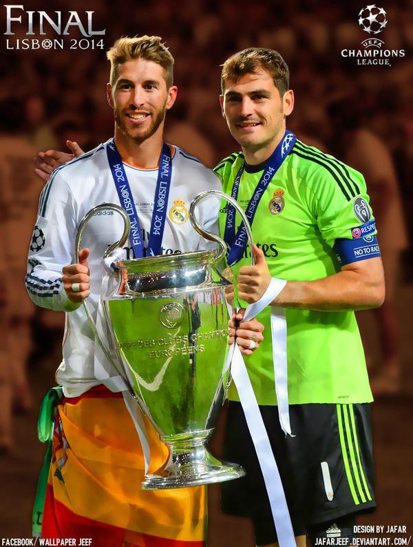 Sergio Ramos Iker Casillas Wallpaper By Jafarjeef