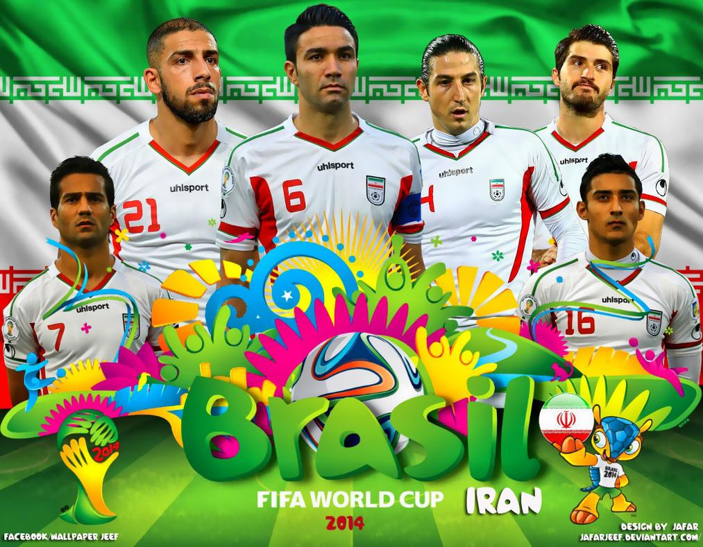 Iran World Cup 2014 Wallpaper by jafarjeef
