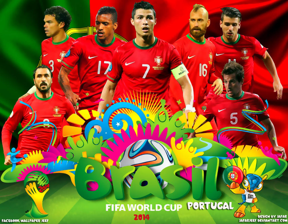 Portugal World Cup 2014 Wallpaper by jafarjeef