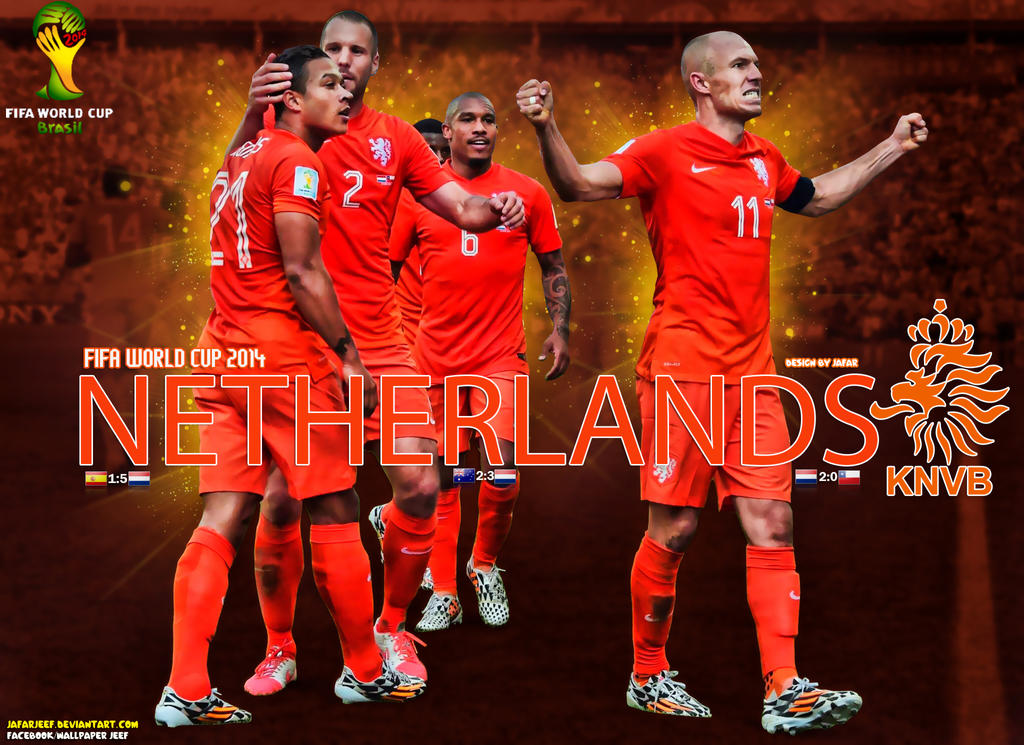 Netherlands Football Team 2014 World Cup Wallpaper