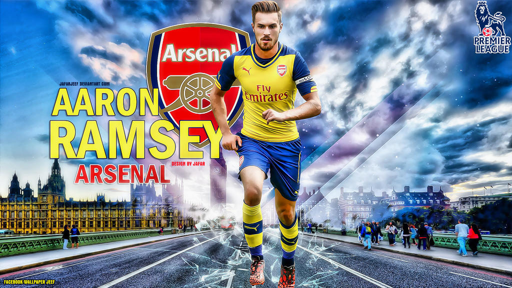 Aaron Ramsey Arsenal Wallpaper by jafarjeef on DeviantArt