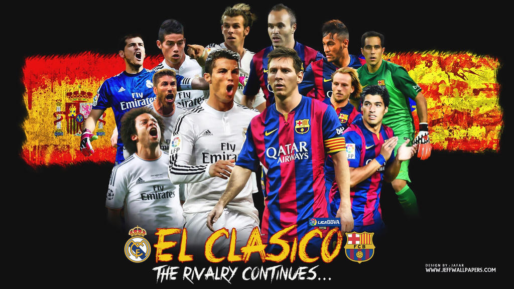 REAL MADRID VS FC BARCELONA WALLPAPERS By Jafarjeef