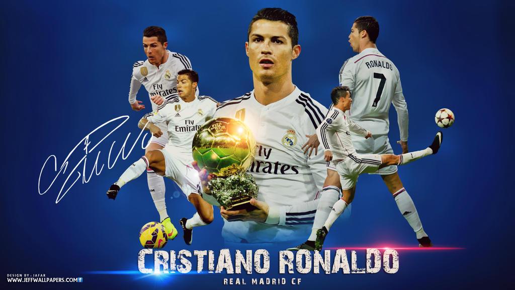 Cristiano ronaldo real madrid wallpaper 2015 by jafarjeef on