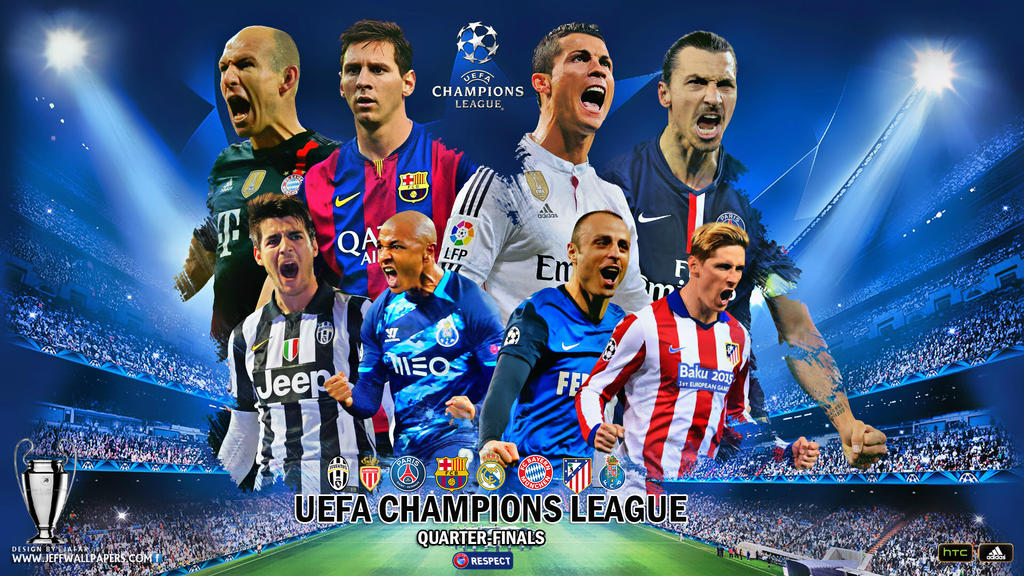 LaVista Designer 3 1 UEFA CHAMPIONS LEAGUE QUARTER FINALS By Jafarjeef