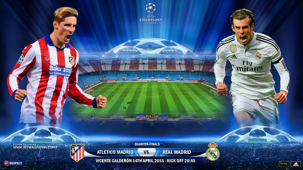 ATLETICO MADRID - REAL MADRID CHAMPIONS LEAGUE by jafarjeef on ...